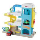 Fisher-Price-Little-People-Garage-+-2-Autos