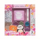 Casuelle-Jungle-Friends-Glitter-Tattoo-Set