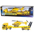 112-Ambulance-Set-Truck-+-Auto-+-Helikopter