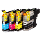 Inktcartridges-Brother-LC-125-LC-127-set