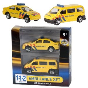 112 Ambulance Set 2-delig