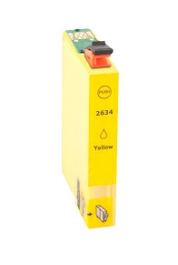 Inktcartridge Epson T-2634 (26XL) yellow (huismerk)
