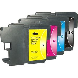 Inktcartridges Brother LC-980 Set (huismerk)