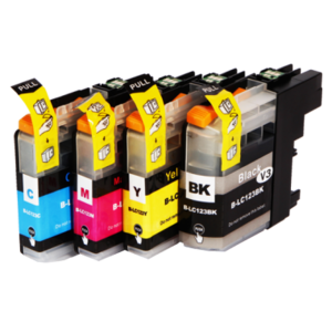 Inktcartridges Brother LC-123 set
