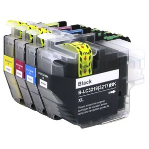 Inktcartridges Brother LC-3219XL / LC-3217 set (huismerk)