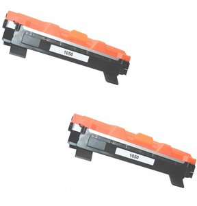 2 x Toner Brother TN-1050 (huismerk)